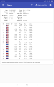 GPS Test Empfang Xiaomi MI Pad 4 Plus 1