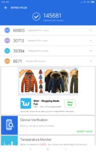 Xiaomi MI Pad 4 Plus Antutu 1