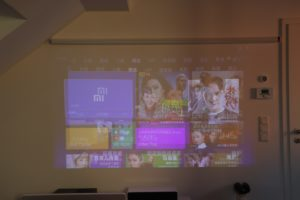 Xiaomi Mijia LED Beamer Testbericht Laser Beamer Vergleich 2