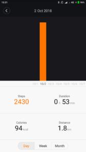 Xiaomi Mijia SYB01 Mi Home Schritte