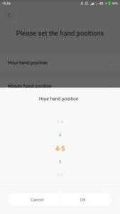 Xiaomi Mijia SYB01 Mi Home Uhrzeit einstellen 2