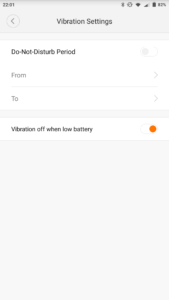 Xiaomi Mijia SYB01 Mi Home weitere Settings