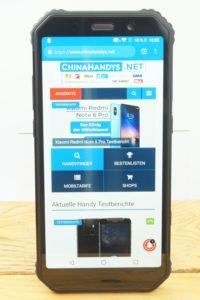 AGM A9 Testbericht Outdoor Smartphone Produktfotos 3