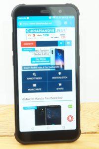 AGM X3 Testbericht Outdoor Smartphones Produktfotos 9