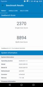AGM X3 Testbericht Outdoor Smartphones Screenshots 11