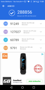 AGM X3 Testbericht Outdoor Smartphones Screenshots 12