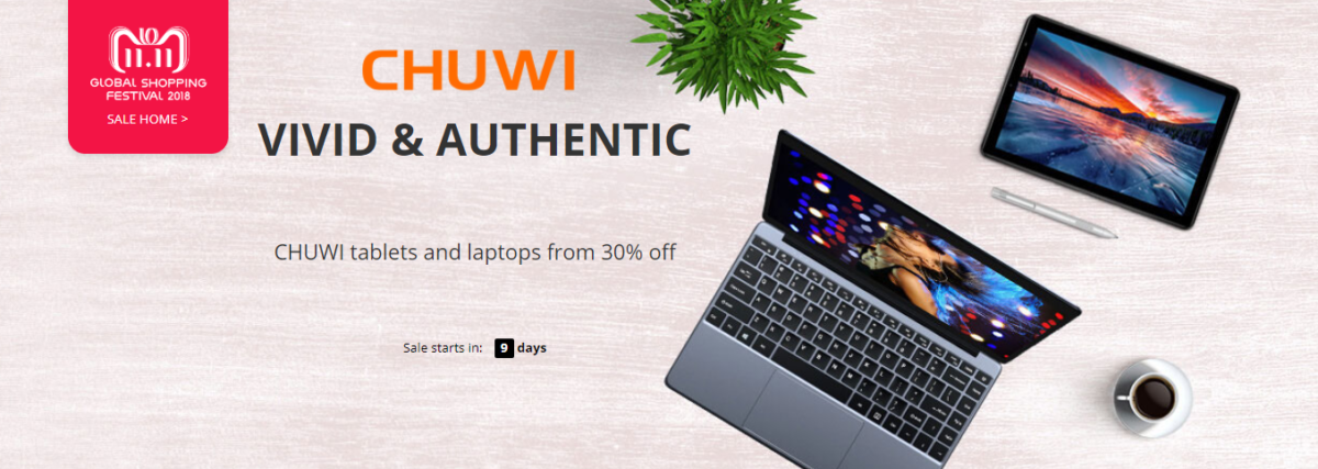 Chuwi Sale 11.November Singles Day Sale 1