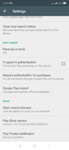 Google Playstore Xiaomi Mi Mix 3 zertifiziert 2