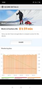 Xiaomi Mi8 Lite Akkutest