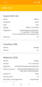 Xiaomi Mi 8 Pro Testbericht Screenshots 2