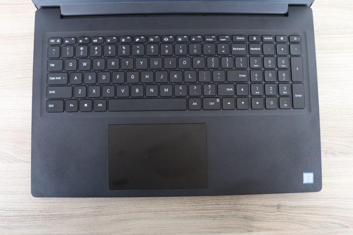 Xiaomi Mi Notebook 15.6 Eingabegeräte
