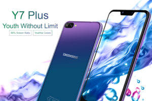 Doogee Y7 Plus Ankündigung Mittelklasse Smartphone 5000mAh 10