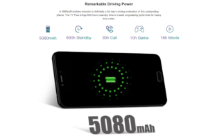 Doogee Y7 Plus Ankündigung Mittelklasse Smartphone 5000mAh 3