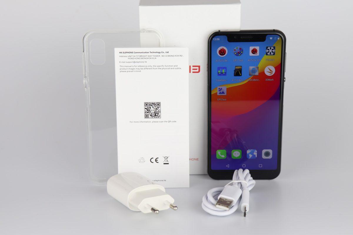 Elephone A4 Pro Lieferumfang