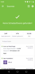 Elephone A4 Pro Viren Malware