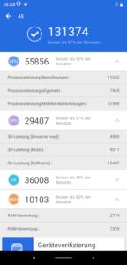 Elephone A5 Testbericht Screenshots 1