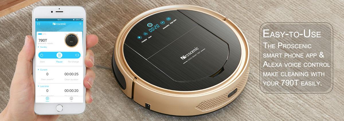 Proscenic Coco Smart 790T Staubsaugerroboter Testbericht 2