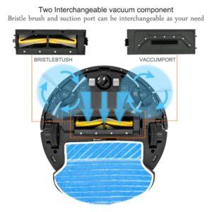 Proscenic Coco Smart 790T Staubsaugerroboter Testbericht 5