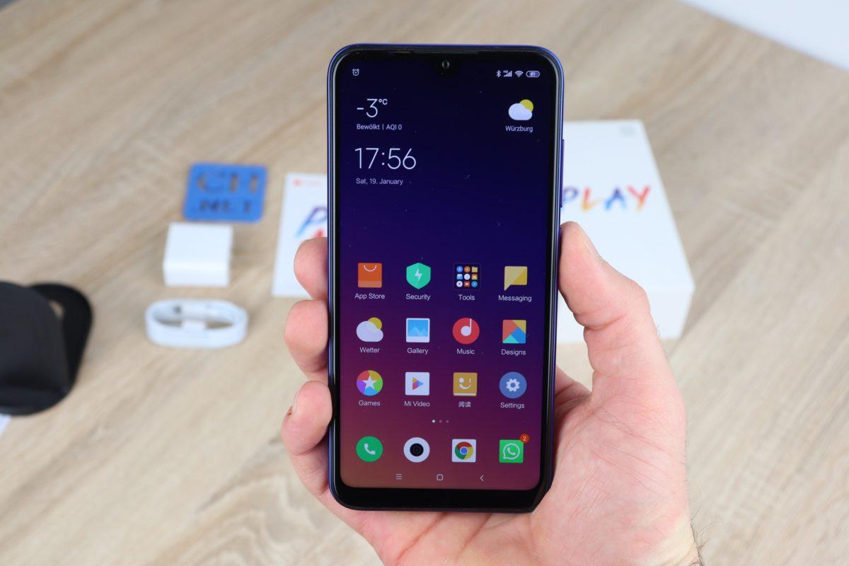 Xiaomi MI Play Hand