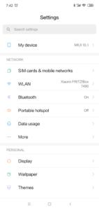 Xiaomi Mi Play MIUI 10 System 1