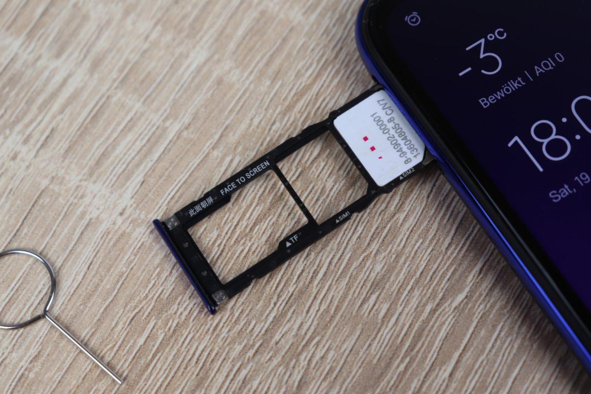 Xiaomi Mi Play Netz Empfang SIM