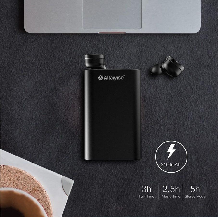 Alfawise D05 True Wireless Kopfhörer Akku