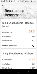Asus Zenfone Max Pro M1 3D mark