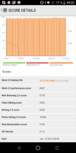 Asus Zenfone Max Pro M1 Akkutest 1