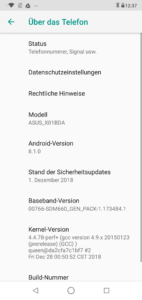 Asus Zenfone Max Pro m2 android4