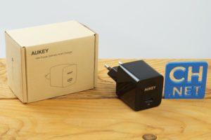 Aukey PA Y18 USB C Ladegerät Testbericht Produktfotos 2