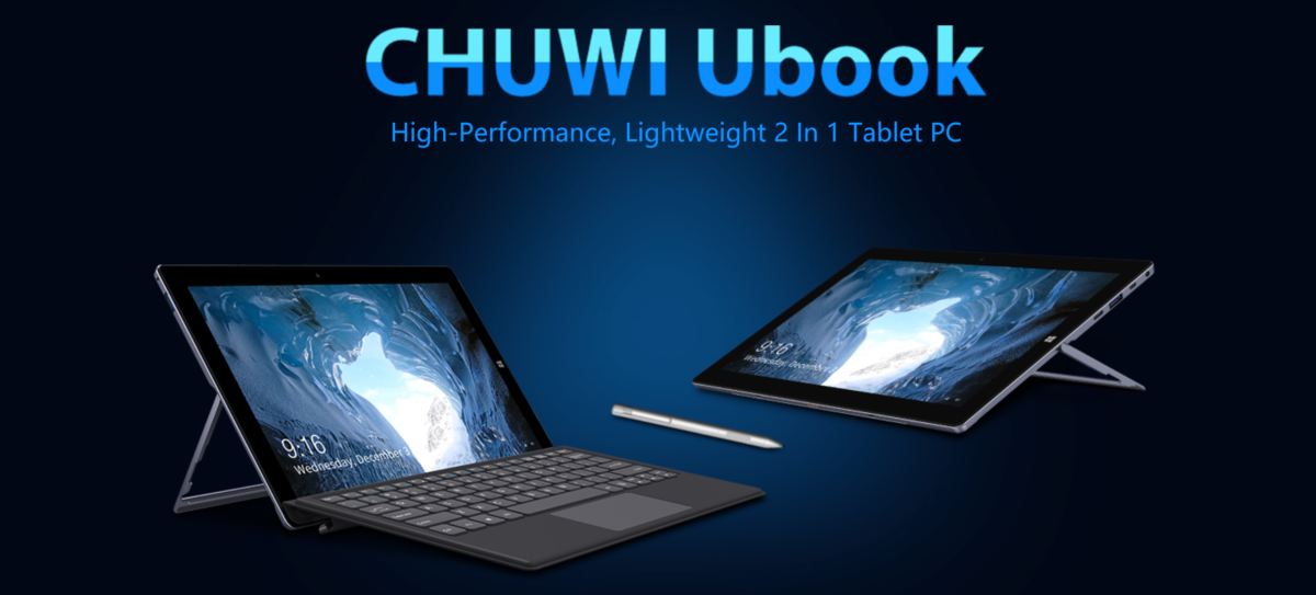 Chuwi Ubook Convertible 1