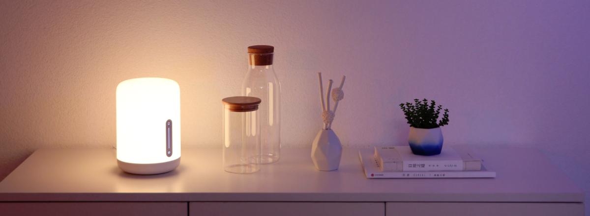 Xiaomi Mi bedside Lamp 2 test