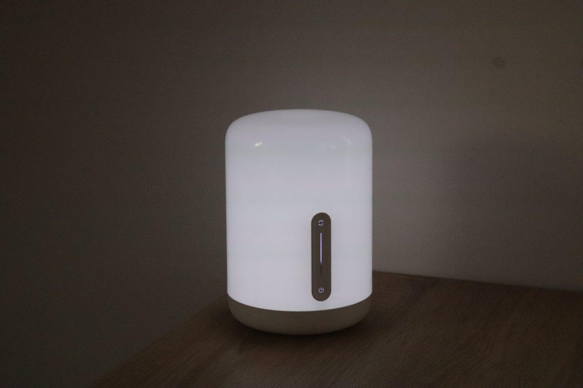 Xiaomi Nachttischlampe 2 Weiß Test 3