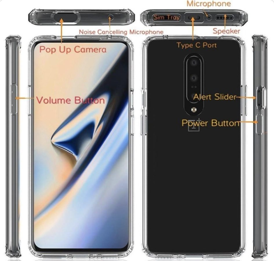 Oneplus 7 Layout