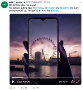 Oppo Europ Launch London 1