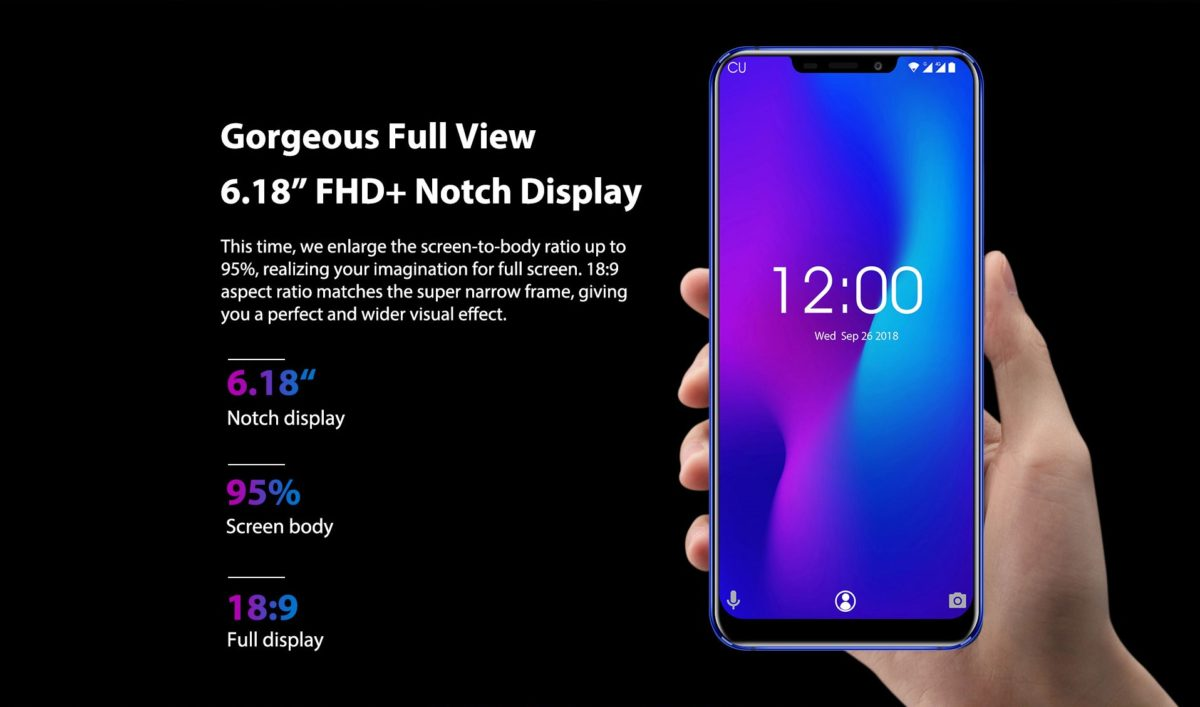 Oukitel U23 Display Data