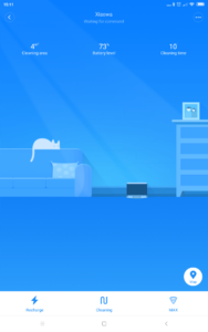Roborock Xiaowa E35 App Interface