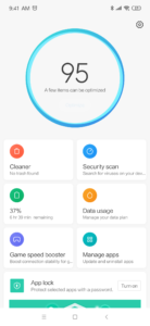 MIUI 10.2 Android 9 Redmi Note 7 System 1