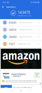 Redmi Note 7 Antutu Benchmark
