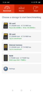 Redmi Note 7 Speichergeschwindigkeit