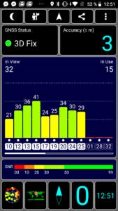 Redmi Go GPStest
