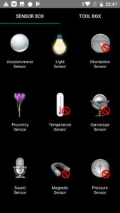 Redmi Go Sensor Test
