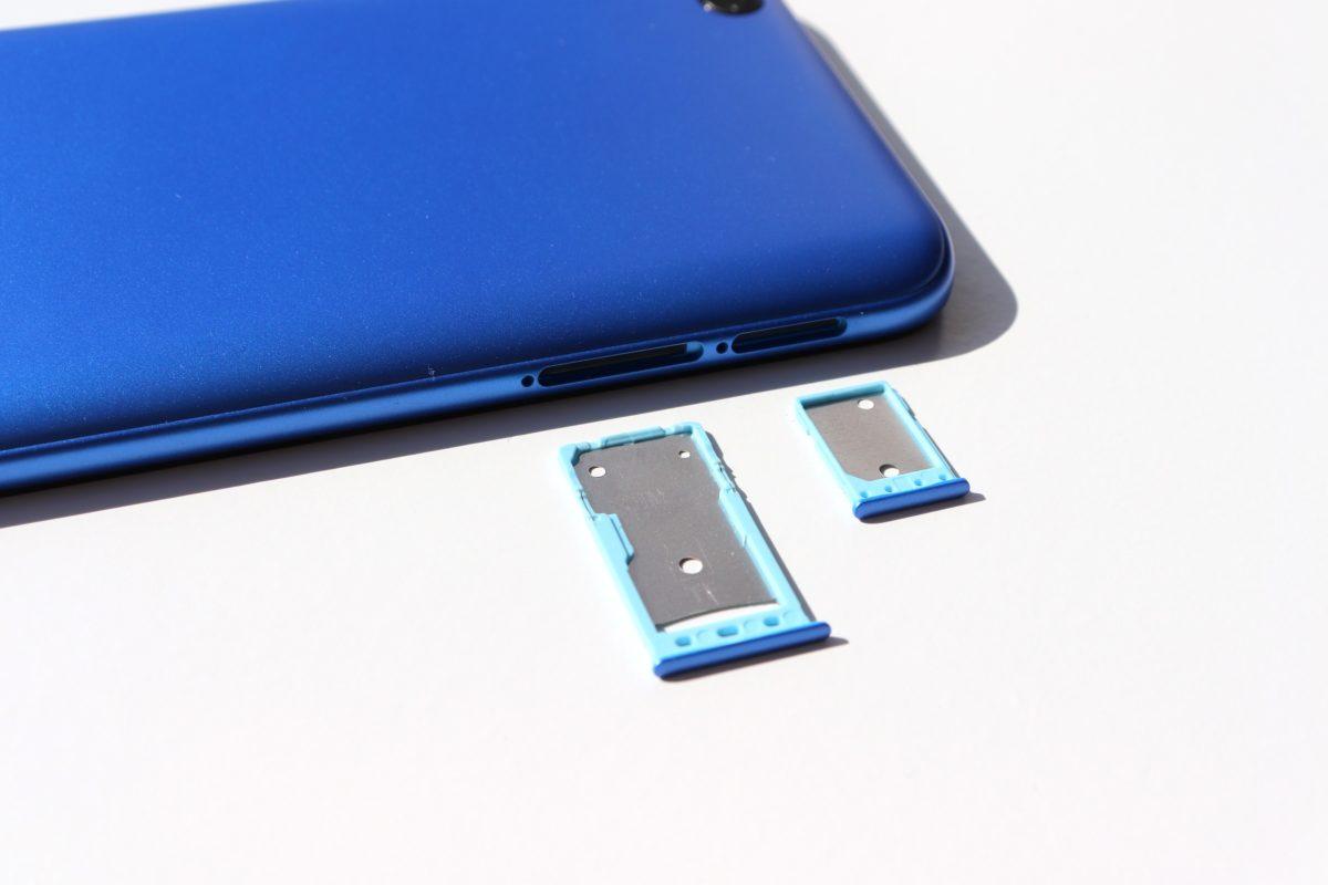 Xiaomi Redmi Go simslot