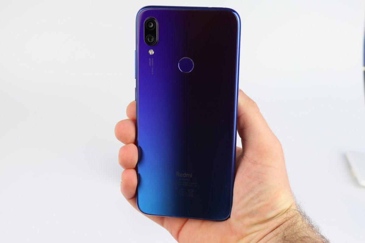 Redmi Note 7 GLobal Blau Design 6