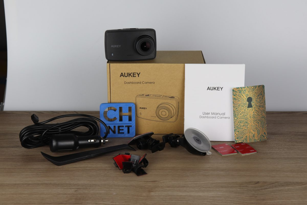 lossless aukey full hd dashcam 2