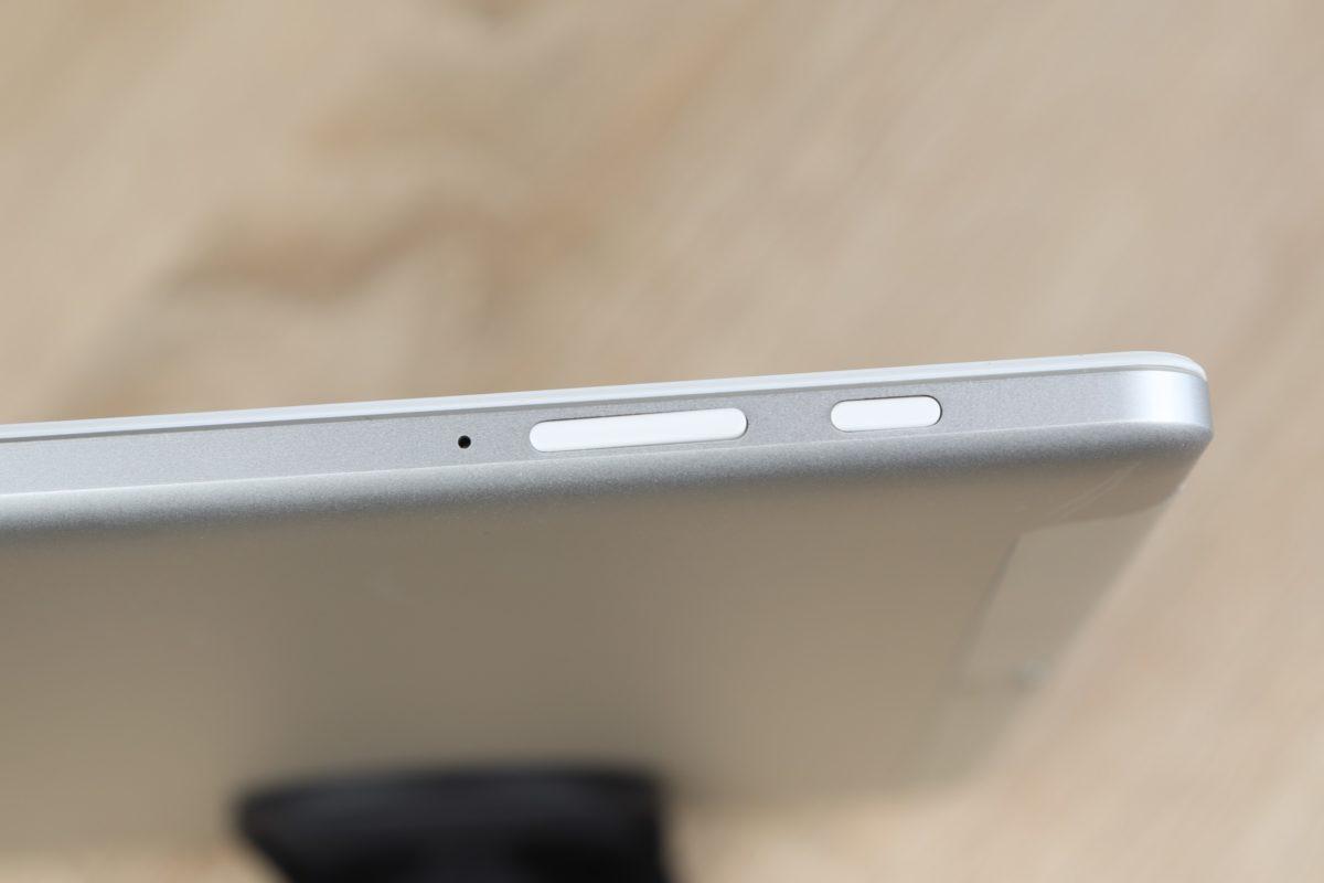 Alldocube M5X Anschlüsse Buttons 2