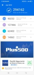 Vivo Nex Dual Display Antutu Benchmark