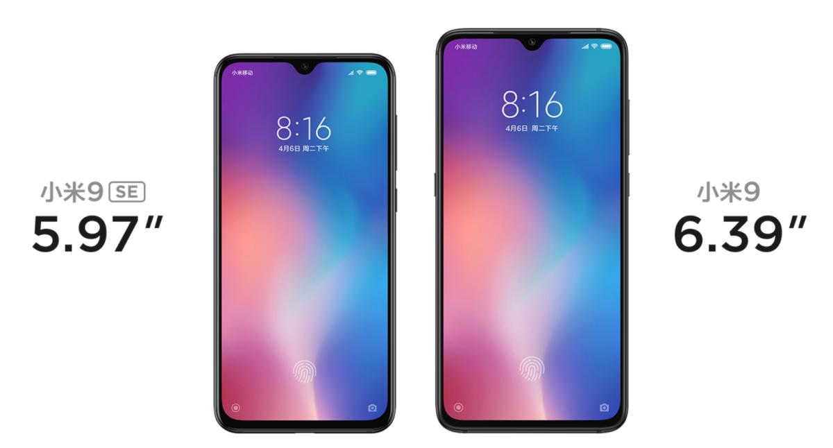 Xiaomi mi 9 se 6 vs mi9