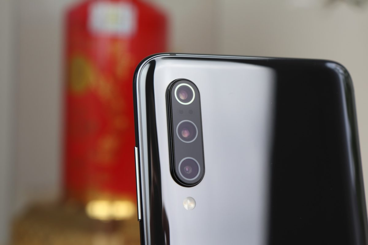 Xiaomi Mi 9 Kamera Triple