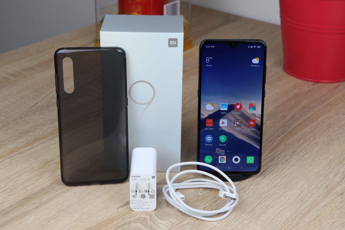 Xiaomi Mi 9 Lieferumfang